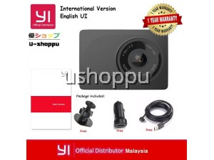 [OFFICIAL YI MALAYSIA WRTY] INTERNATIONAL EDITION YI SMART DASH CAMERA ENGLIGH