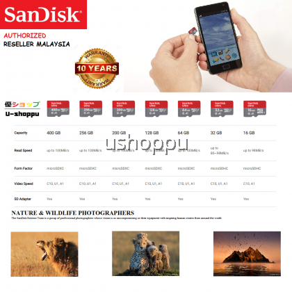 SanDisk Ultra MicroSD Memory Card 16GB/32GB 98MB/s A1 Class 10 UHS-I microSDHC With SD Adapter