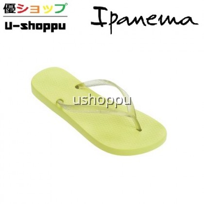 IPANEMA LADIES CLASSICA TAN FEM FLIP FLOPS (YELLOW)